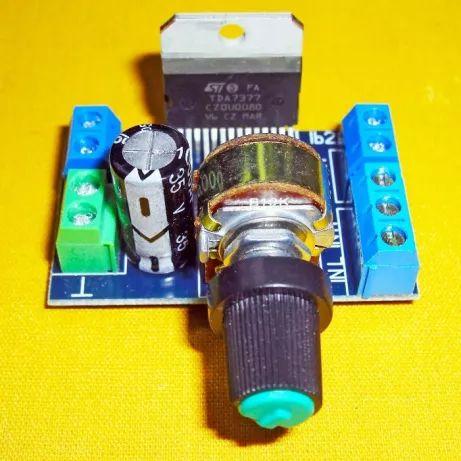 Усилитель звука мощности підсилювач стерео 2*30 Вт на TDA7377