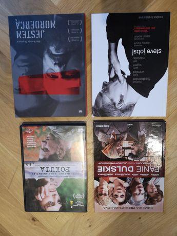 Filmy DVD Steve Jobs, Jestem mordercą, Pokuta, Panie Dulskie