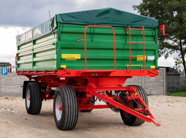 Przyczepa Rolnicza HL HW 3 Stronny Wywrot 6011 Ładowność 10 ton 8011