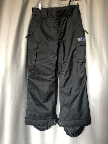 Spodnie narciarskie snowboardowe Burton czarne