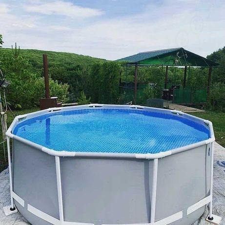 Интекс бассейн каркасный круглый 305х99 см