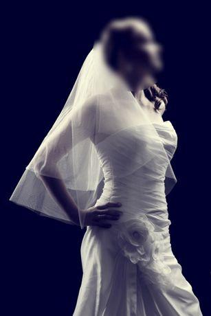Suknia ślubna Lisa Ferrera OreaSposa - jak NOWA