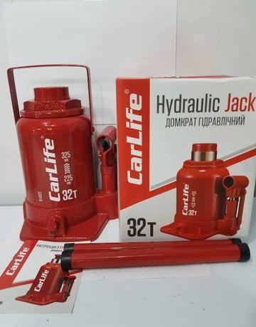 Домкрат гидравлический 32т CarLife BJ432S 225-325мм