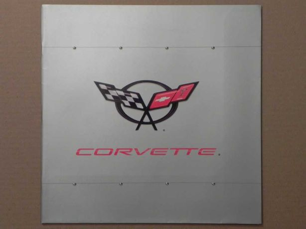 Prospekt - CHEVROLET CORVETTE C5 - 2003 r