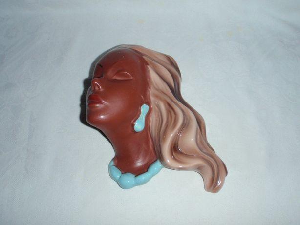 Płaskorzeźba głowa kobiety 1940r. - Maska Cortendorf 3426