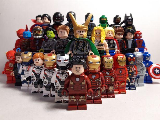 Lego (Лего) мини фигурка Marvel Avengers, Super Heroes, DC - ОРИГИНАЛ