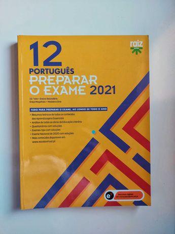 Livro de Preparação de Exame Português 2021 NOVO