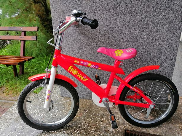 Rowerek dla dziewczynki koła 16
