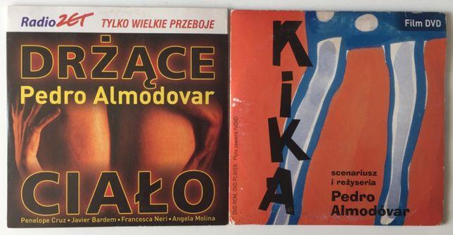 DVD Pedro Almodovar Drżące ciało + Kika Zestaw 2 filmy