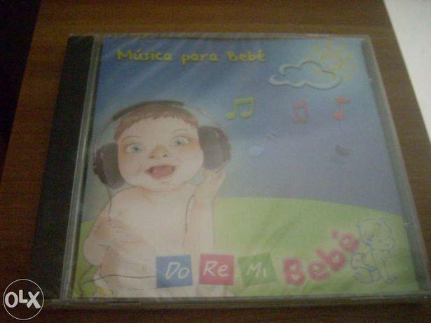 Musicas para bébés.Dóremi Sounds.Selado.