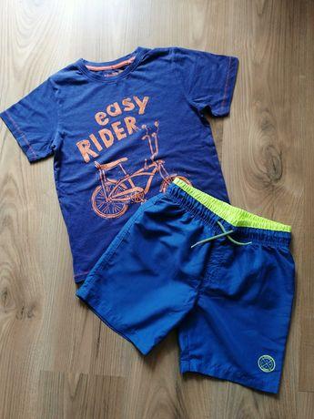 Spodenki, koszulka, bluza Zara 134-140cm
