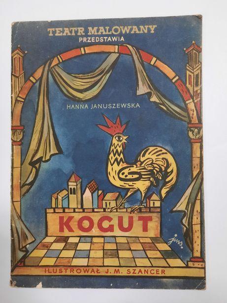 Kogut Januszewska ilustracje Szancer