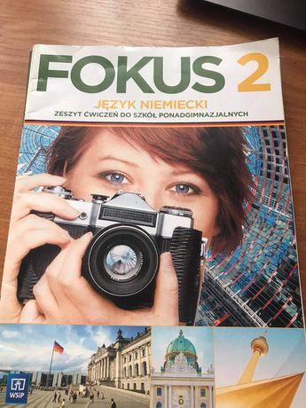 Podrecznik i zeszyt cwiczen do j. niemieckiego FOKUS 2