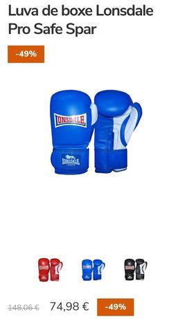 Luvas de box Lonsdale novas