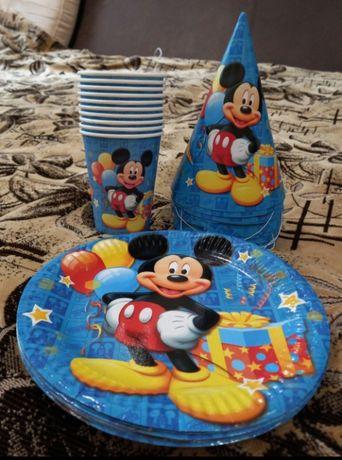 праздничный набор Микки Маус