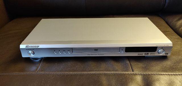 Odtwarzacz DVD Pioneer DV-380 + pilot + kable + instrukcja