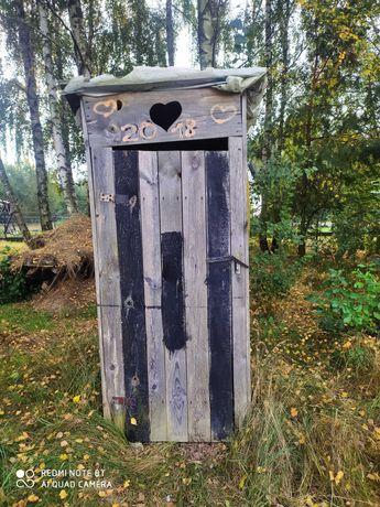 Toaleta,WC, wychodek drewniany