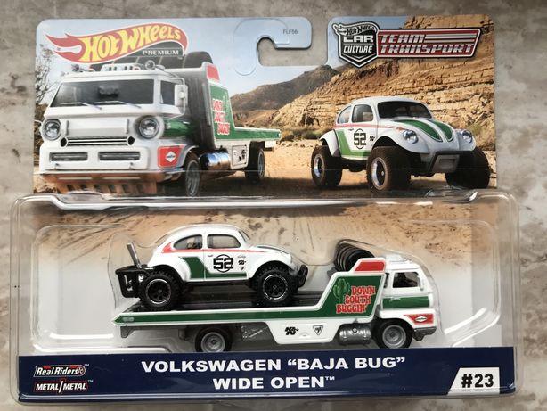 """Hot Wheels Premium Volkswagen """"Baja Bug"""" / Wide Open"""
