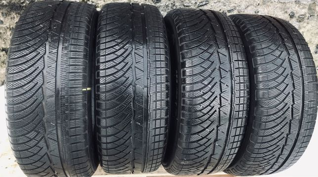 Michelin 235/55r17 4 шт комплект зима резина шины б/у склад