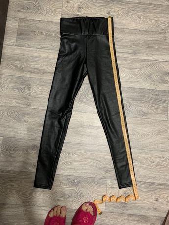 Лосины кожаные новые