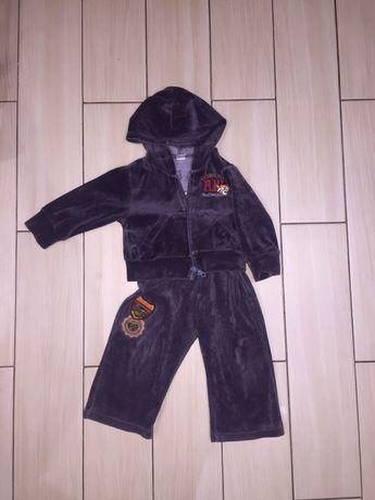 Спортивеый велюровый модный костюм на мальчика или на девочку 80 рост