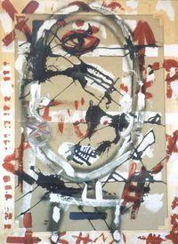 Pintura - acrílico em tela - Amanhecer violento