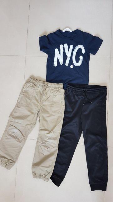 Spodnie H&M Koszulka H&M 110-116