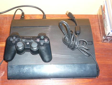 Konsola PS3 Super Slim320GB + oryg. pad. Gwarancja, sklep [Warszawa]