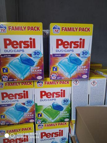 Капсули для прання Persil 72 шт. Універсальний та для кольорових речей