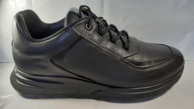Кожаные кроссовки BERTONI весна-осень.40,4142,43,44,45