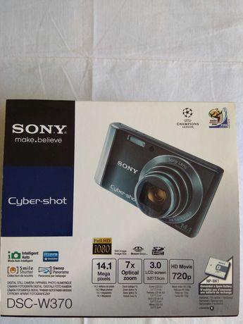 Sony Cyber-Shot DSC-W370 Black 14.1 MP 7x Zoom