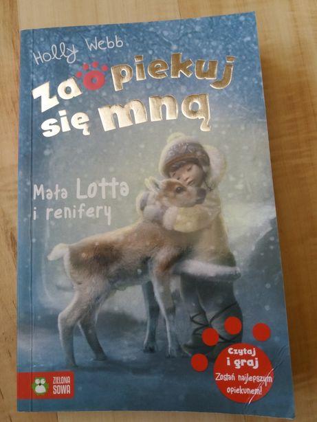 Mała Lotta i renifery książka Holly Webb z serii Zaopiekuj się mną