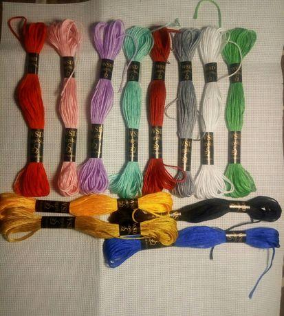 Набор ниток для вышивки