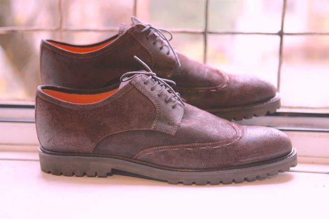 туфли (демисезон) KARE размер 45, ручная работа!!!