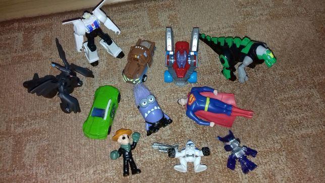 Игрушки для мальчика, набор 11 шт.