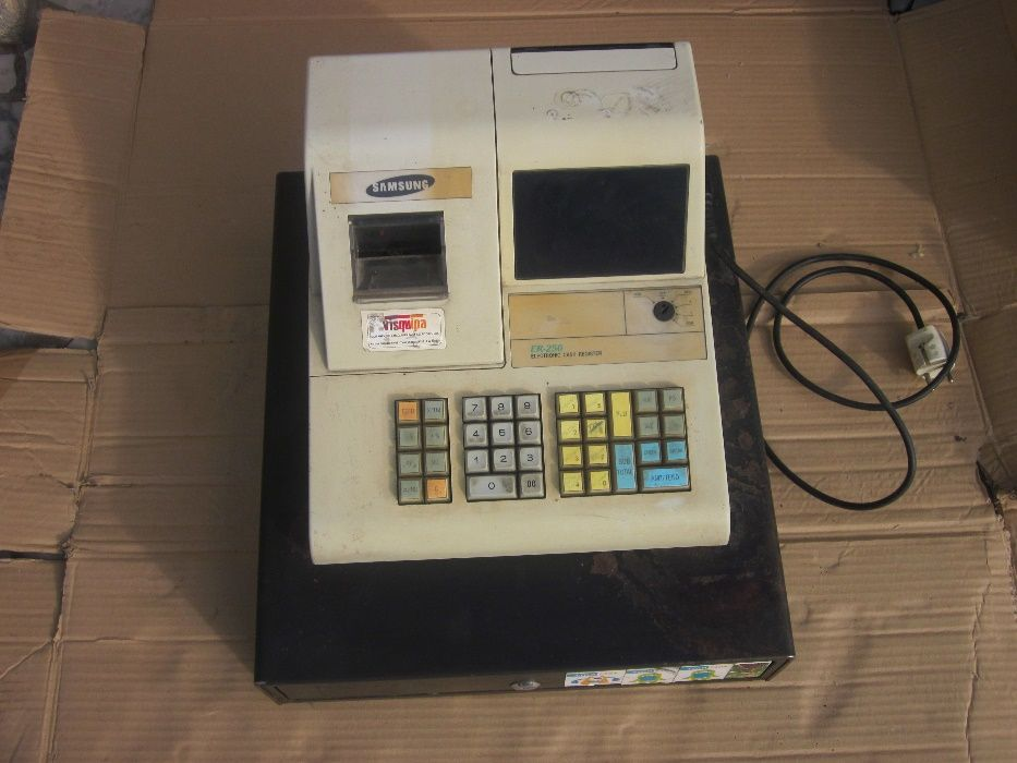 Máquina registadora Samsung ER250 Guarda - imagem 1