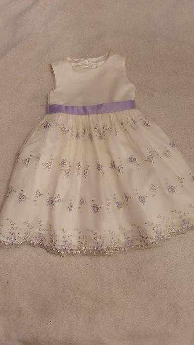Sukienka ecru 104 Krosno - image 1