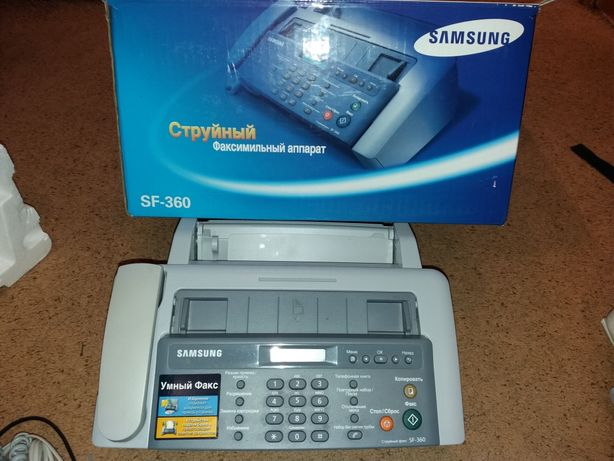 Продам факс samsung sf-360
