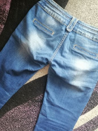 Spodnie jeansy L- XL