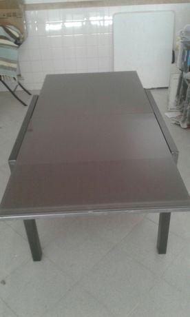 Mesa extensível alumínio