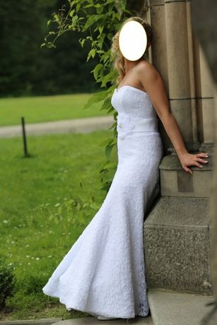 Suknia ślubna Agnes Platinium Collection r.36
