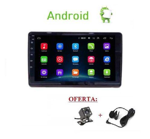 (NOVO) Rádio 2DIN AUDI A4 (2000 a 2009) • Android GPS • B6 B7