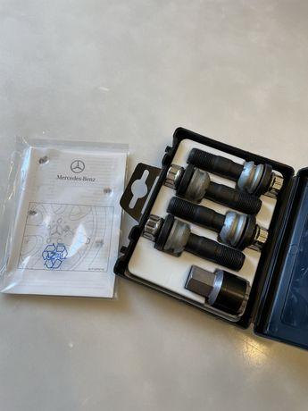 pernos porcas parafusos segurança novos originais Mercedes GLE