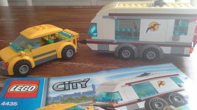 Klocki LEGO 4435 samochód + przyczepa