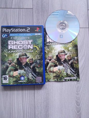 Gra Play Station 2 Ghost Recon Jungle Storm