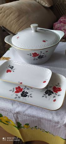 Serwis obiadowy Wawel porcelana PRL