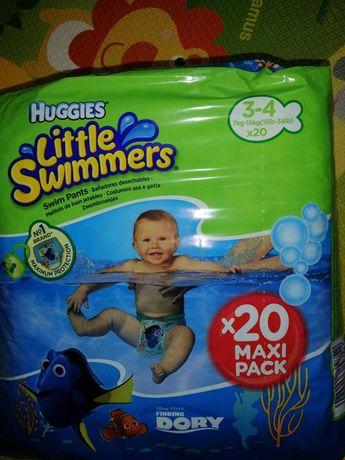 Подгузники трусики для бассейна Huggies 20шт