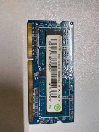 DDR-3 2GB Для ноутбука рабочая