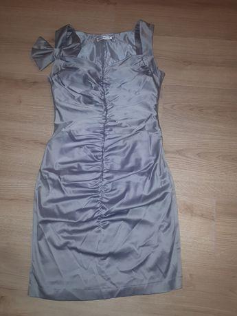 Srebna sukienka cocomore