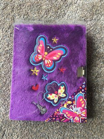 Pamiętnik notes na kłódkę prezent